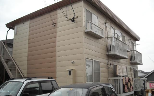 アパート塗装