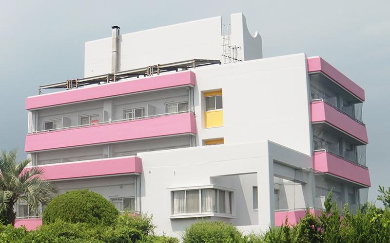 学生寮 外壁塗装(宮崎市)