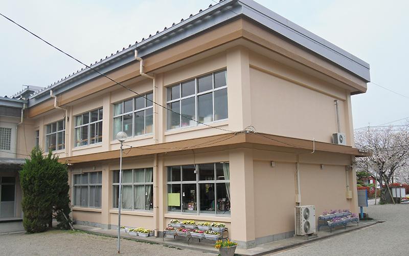中学校 外壁塗装(宮崎市)