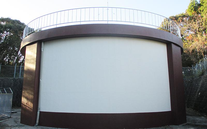 貯水槽塗装