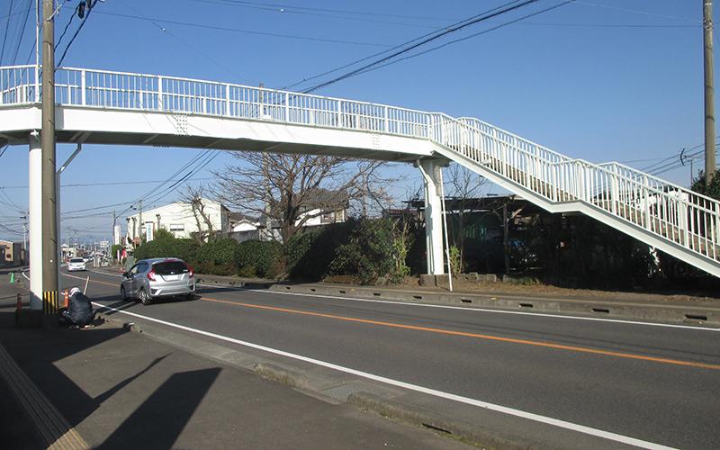 歩道橋塗装